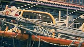 Historyczny ?agla statek zbiory wideo