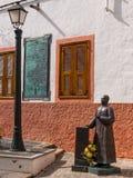 Historyczny Aguimes Grodzki Gran Canaria Hiszpania Zdjęcia Stock
