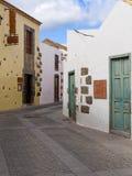 Historyczny Aguimes Grodzki Gran Canaria Hiszpania Zdjęcie Royalty Free
