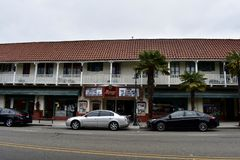 Historyczny Alcazar teatr Carpinteria, Kalifornia, 2 fotografia royalty free