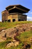 Historyczny armatni emplacement, Szkocja Obrazy Stock