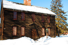 Historyczny Ashley dom, Deerfield, MA Zdjęcia Stock