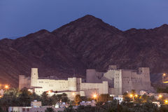 Historyczny Bahla fort w Oman Zdjęcie Royalty Free