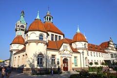 Historyczny balneologia budynek w Sopocie, Polska Obraz Royalty Free
