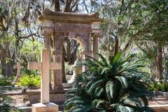 Historyczny Bonaventure cmentarz obraz stock