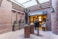 Historyczny browar w Bremen, Niemcy Obrazy Royalty Free