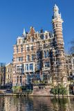 Historyczny budynek Amtserdam Fotografia Royalty Free