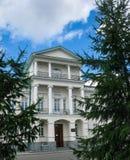 Historyczny budynek Dzielnicowy szpital 2 w Yekaterinburg, Sverdlovsk region zdjęcia royalty free
