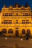 Historyczny budynek Hotelowy De Ville w Paray Le Monial a Fotografia Stock