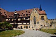 Historyczny budynek na VESTE COBURG kasztelu w Coburg, Niemcy zdjęcia stock