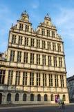 Historyczny budynek średniowieczny miasto Ghent, Belgia Obraz Royalty Free