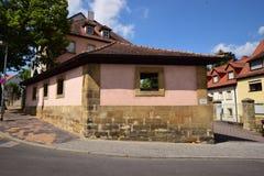 Historyczny budynek w Ansbach, Bavaria, Niemcy Fotografia Stock