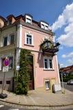 Historyczny budynek w Ansbach, Bavaria, Niemcy Obrazy Royalty Free