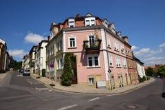Historyczny budynek w Ansbach, Bavaria, Niemcy Obraz Royalty Free