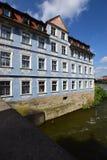 Historyczny budynek w Bamberg, Niemcy obraz royalty free