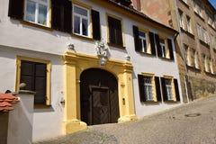 Historyczny budynek w Bamberg, Niemcy Fotografia Royalty Free