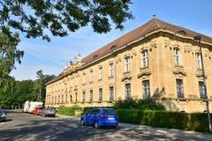 Historyczny budynek w Bamberg, Niemcy obrazy stock