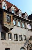 Historyczny budynek w bavarian FÃ ¼ ssen Zdjęcia Royalty Free
