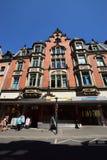 Historyczny budynek w Coburg, Niemcy Obrazy Royalty Free