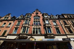 Historyczny budynek w Coburg, Niemcy Zdjęcia Stock