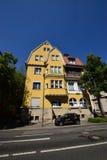 Historyczny budynek w Coburg, Niemcy Zdjęcia Royalty Free