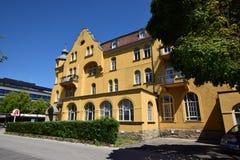 Historyczny budynek w Coburg, Niemcy Obraz Stock