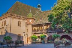 Historyczny budynek w Colmar Zdjęcia Royalty Free