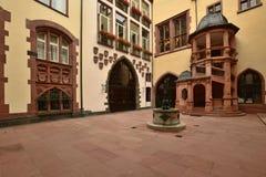 Historyczny budynek w Frankfurt na magistrali, Niemcy zdjęcia stock