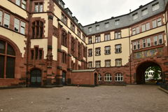 Historyczny budynek w Frankfurt na magistrali, Niemcy fotografia royalty free