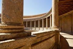 Historyczny budynek w Granada Hiszpania Zdjęcie Royalty Free