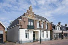 Historyczny budynek w mieście Lemmer Obrazy Stock