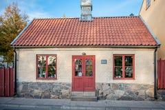 Historyczny budynek w Norrkoping, Szwecja Obraz Royalty Free