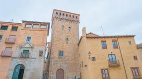 Historyczny budynek w Segovia obrazy stock