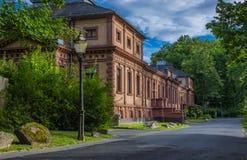 Historyczny budynek w Złym Homberg Obraz Royalty Free