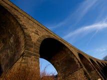 Historyczny Buxton most, Szczytowy Gromadzki park narodowy Zdjęcia Royalty Free