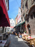 Historyczny centrum Brugge Zdjęcia Royalty Free