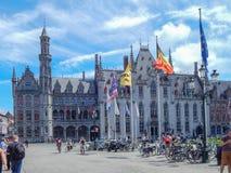 Historyczny centrum Brugge Obrazy Stock