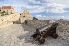 Historyczny centrum, Dalt Vila, Unesco światowego dziedzictwa miejsce, Ibiza Obraz Royalty Free