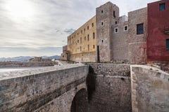 Historyczny centrum, Dalt Vila, Unesco światowego dziedzictwa miejsce, Ibiza Obrazy Royalty Free