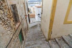 Historyczny centrum, Dalt Vila, Unesco światowego dziedzictwa miejsce, Ibiza Vila, Unesco światowego dziedzictwa miejsce, Ibiza,  Zdjęcia Royalty Free