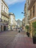 Historyczny centrum Montevideo zdjęcie royalty free