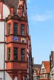 Historyczny centrum stary niemiecki miasto Alsfeld obraz stock