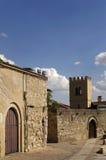 Historyczny centrum Zamora, kościół, Hiszpania Zdjęcia Royalty Free
