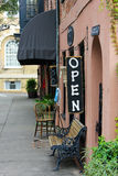 historyczny Charleston sklep Fotografia Royalty Free