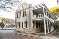 Historyczny Charleston stylu dom Zdjęcia Royalty Free