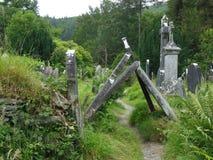 Historyczny cmentarz w Irlandia Fotografia Royalty Free