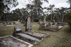 Historyczny cmentarza cmentarz Fotografia Stock