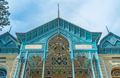 Historyczny dwór Irański konsul w Borjomi Zdjęcie Stock