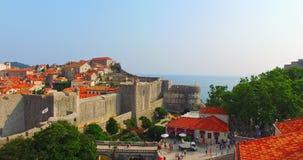 Historyczny dziedzictwo Dubrovnik zbiory