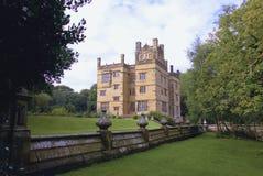 Historyczny Elżbietański Gawthorpe Hall zdjęcie stock
